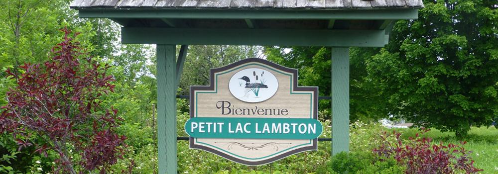 Bienvenue au Petit Lac Lambton!